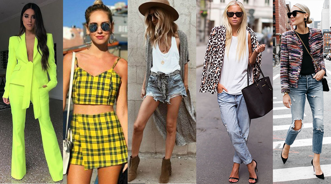 3223f39429 Se você ama acompanhar o mundo da moda, já deve ter percebido que, a cada  temporada, surgem novas tendências. E em 2019, muitas referências dos anos  90 ...